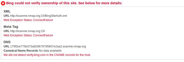 SSRF attack using Microsoft's bing webmaster central | Blog